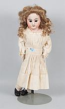 Armand Marseille bisque and cloth doll