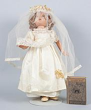 Shirley Temple type composition doll
