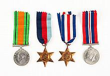Four assorted military medals