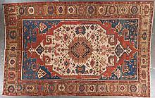 Antique Serapi carpet, approx. 9.6 x 14
