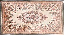 Semi-antique Kerman carpet, approx. 11.6 x 19