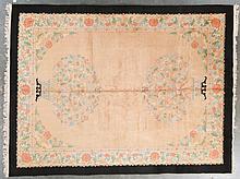 Antique Nichols carpet, approx. 9 x 12