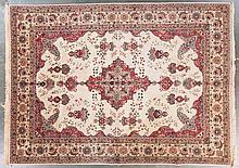 Semi-antique Tabriz carpet, approx. 9.9 x 13.1