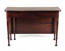 Federal mahogany drop leaf table
