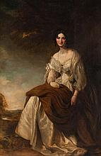 Sir Francis Grant, P.R.A. Sarah Wright, oil