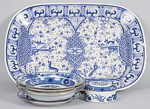 5 Mottahedeh porcelain articles