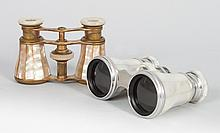 Two pair of French opera glasses