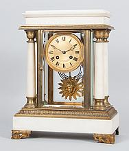 Napoleon III portico clock