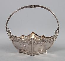 German silver wedding basket