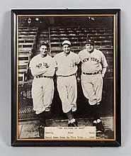 Babe Ruth autographed photo