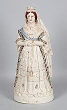 Staffordshire Queen Victoria figure