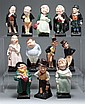 12 Royal Doulton china figures from Charles Dickens' stories