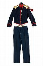 Uniform: Union artillery officer's jacket & pants