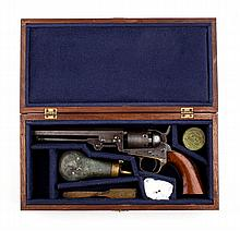 Firearm, memento: Colt Model 1849 pocket revolver