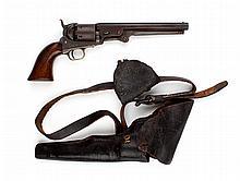 Firearm, Confederate use: Colt  revolver, belt rig