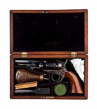 Firearm: Colt Model 1849 pocket revolver in case