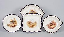 Royal Worcester china 18-piece game service