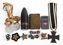 Group of military souvenirs