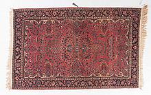 Antique Sarouk rug, approx. 4.5 x 6.9