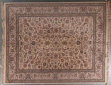 Machine made oriental design rug