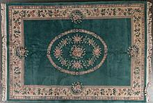 Chinese 90-line rug, approx. 8 x 11
