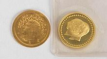 [Persian] Two Iranian Gold Coins