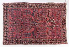 Antique Sarouk rug, approx. 4.4 x 6.5