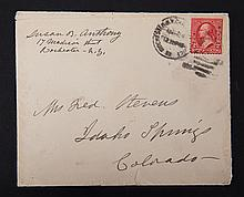 [Autograph] Susan B. Anthony - Cover 1900