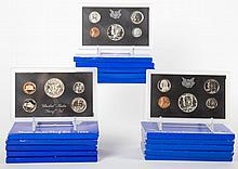 [US] 15 Boxed Proof Sets, 1968-70