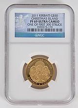 [Foreign] $50 Kiribati Gold Coin