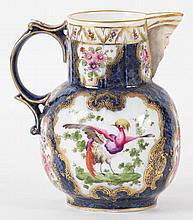 Worcester porcelain jug, Dr. Wall period