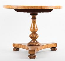 American Classical style tilt-top table