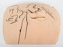 Reuben Nakian. Abstract terracotta sculpture
