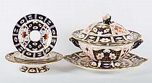 Seven pieces of Royal Crown Derby tableware