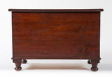 American vernacular pine and poplar blanket chest