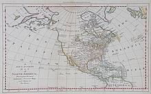 Thomas Bowen. Map of North America, circa 1770