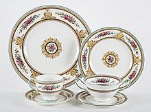 Wedgwood china partial dinner service