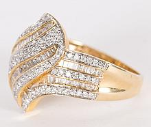 A Baguette Diamond Ring
