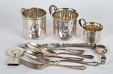American sterling silver baby & child articles