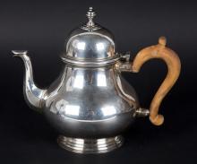 S.J. Shrubsole sterling silver teapot