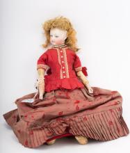 French bisque and kid fashion doll