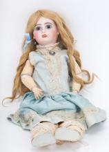 French bisque and composition doll