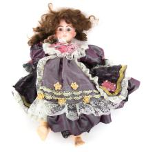 German or French bisque and composition doll
