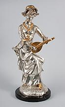 Alex Brown bronze sculpture
