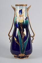 Carlsbad Art Nouveau ceramic vase