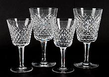 Waterford crystal 17-piece partial stemware set