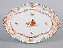 Herend porcelain tray