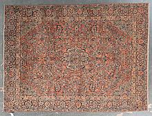 Antique Sarouk carpet, approx. 8.5 x 11