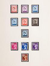 Stockbook & album: Isle of Man postage stamps