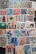 Three stockbooks: worldwide postage stamps